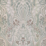 Laurence Llewelyn-Bowen Damask Dangereuse Cinnamon Rose Wallpaper - Product code: LLB6027