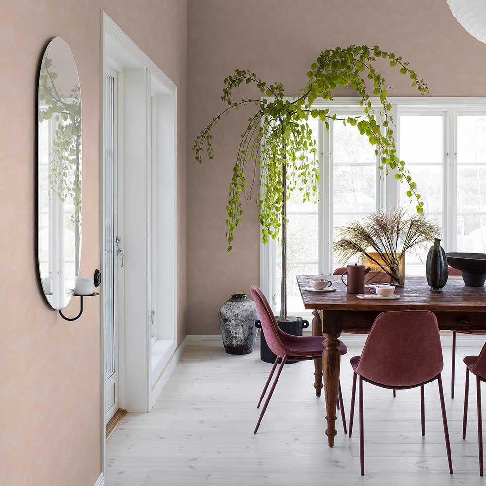 Shades-Tera Wallpaper - Pink - by Boråstapeter