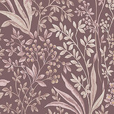 Boråstapeter Nocturne Mulberry Wallpaper - Product code: 7268