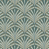 Boråstapeter Grace Jade Green Wallpaper - Product code: 7276