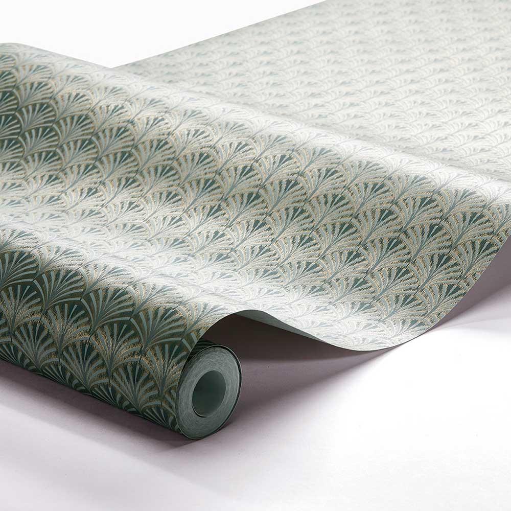 Boråstapeter Grace Jade Green Wallpaper - Product code: 7276