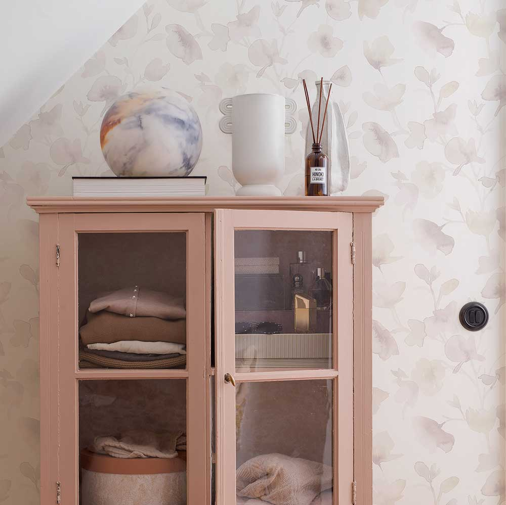 Boråstapeter Dawn Pink Wallpaper - Product code: 7278