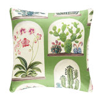 Sanderson Terrariums Cushion Botanical Green - Product code: DGLA257142C
