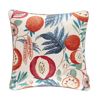 Sanderson Jack Fruit Cushion Indigo/ Rambutan - Product code: DGLA257172C