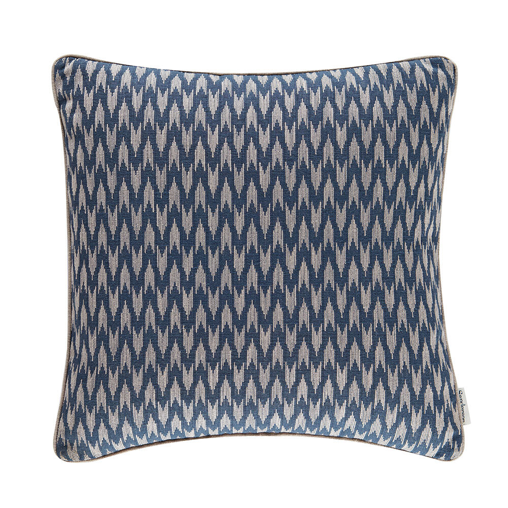 Sanderson Hutton Cushion  Midnight Blue - Product code: DLNC257175C