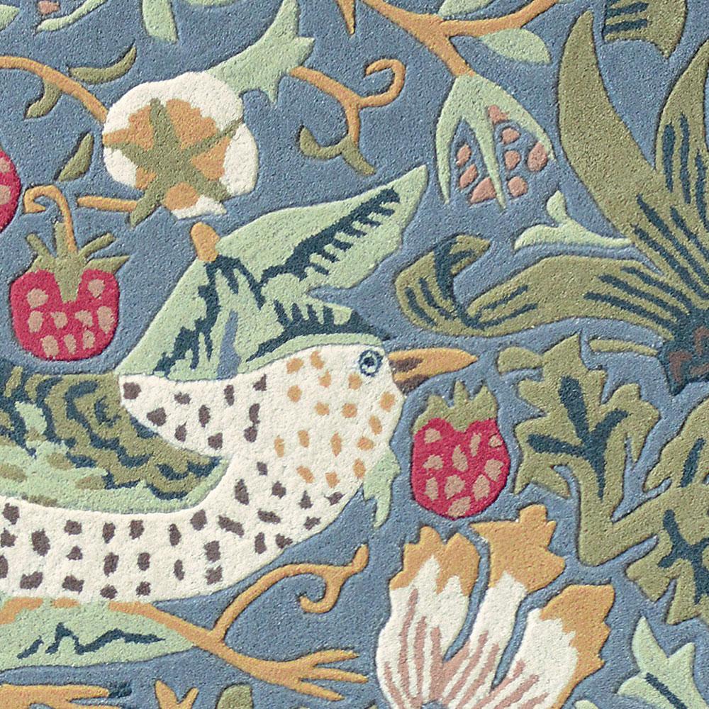 Strawberry Thief Rug - Slate - by Morris