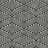 Albany Luciano Geo Gunmetal Wallpaper - Product code: 3850