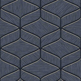 Albany Luciano Geo Navy Wallpaper - Product code: 3852
