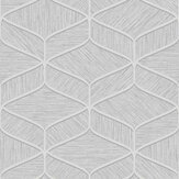 Albany Luciano Geo Silver Wallpaper - Product code: 3851