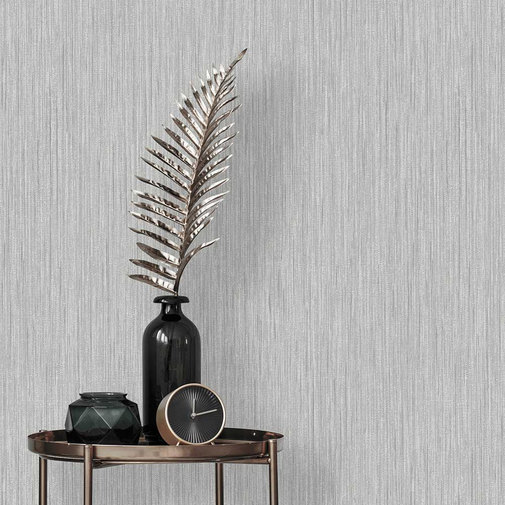 Albany Luciano Texture Silver Wallpaper - Product code: 3854