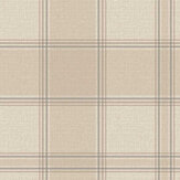 Albany Giorgio Check Beige Wallpaper - Product code: 8102