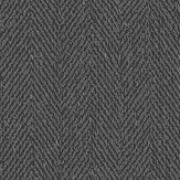 Boråstapeter Herringbone Black Wallpaper - Product code: 1154