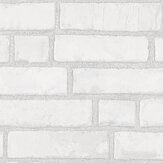 Boråstapeter Original Brick White Wallpaper - Product code: 1161