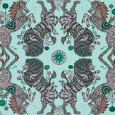 Emma J Shipley Caspian Aqua Wallpaper - Product code: W0113/01