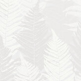 Boråstapeter Fern Forest White Wallpaper - Product code: 1163