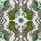 Emma J Shipley Caspian Lime Wallpaper - Product code: W0113/04