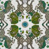 Clarke & Clarke Caspian Lime Wallpaper - Product code: W0113/04