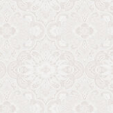 Boråstapeter Rustic Ornament White Wallpaper - Product code: 1165