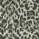 Emma J Shipley Felis Charcoal / Gold Wallpaper - Product code: W0115/02