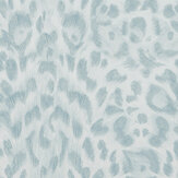 Emma J Shipley Felis Duck egg Wallpaper - Product code: W0115/04