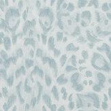 Clarke & Clarke Felis Duck egg Wallpaper - Product code: W0115/04