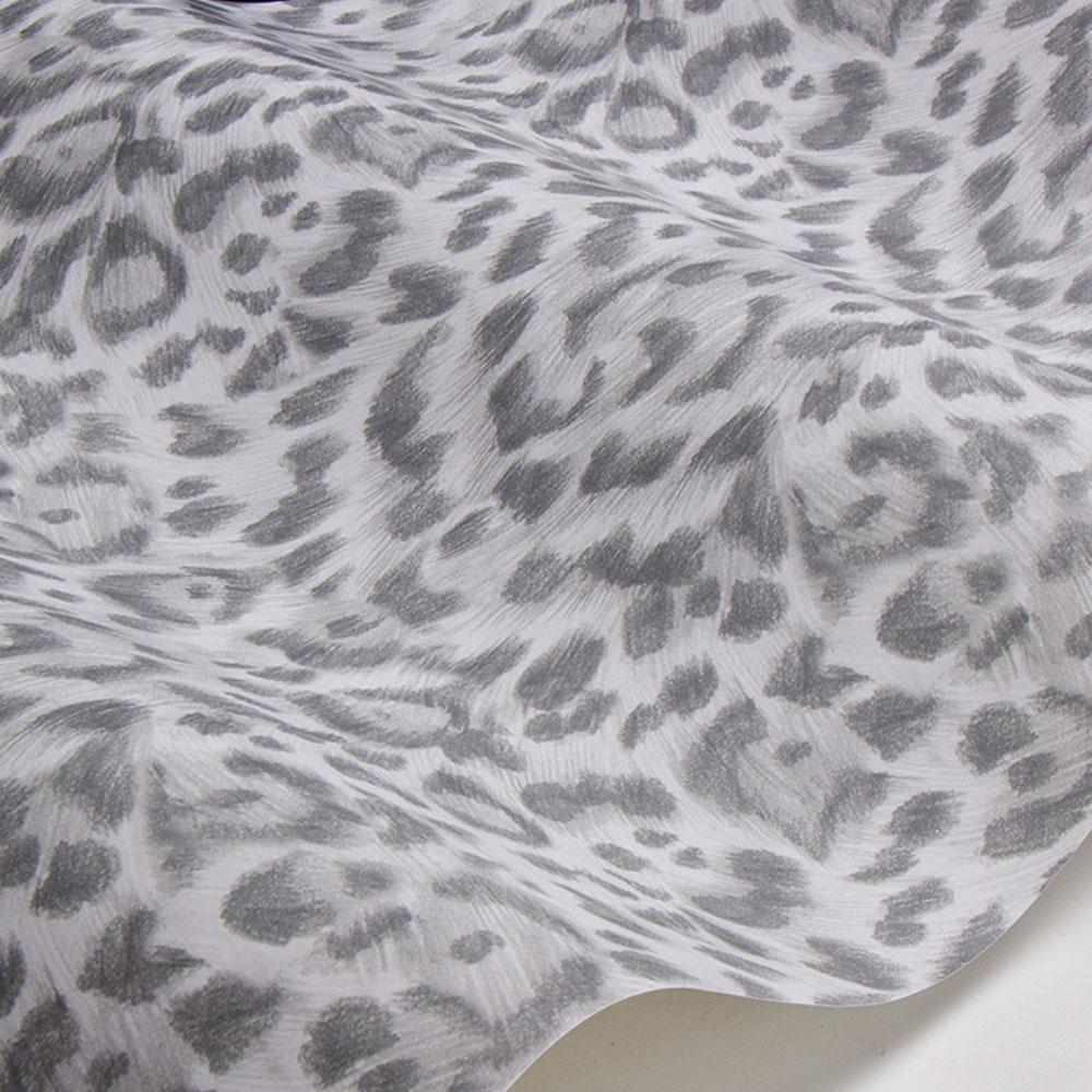 Felis Wallpaper - Silver - by Emma J Shipley