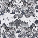 Emma J Shipley Lost World Blue Wallpaper - Product code: W0117/01