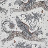 Clarke & Clarke Lynx Nude Wallpaper - Product code: W0118/04