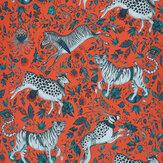 Emma J Shipley Protea Coral Wallpaper - Product code: W0119/03