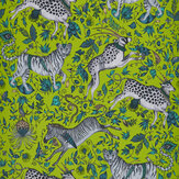 Emma J Shipley Protea Lime Wallpaper - Product code: W0119/05