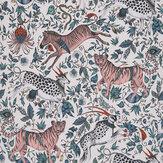 Clarke & Clarke Protea Pink Wallpaper - Product code: W0119/06