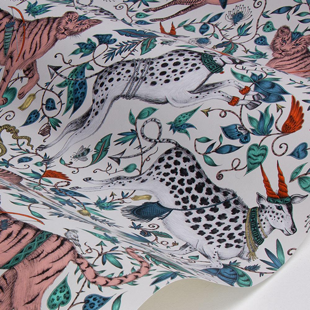 Emma J Shipley Protea Pink Wallpaper - Product code: W0119/06