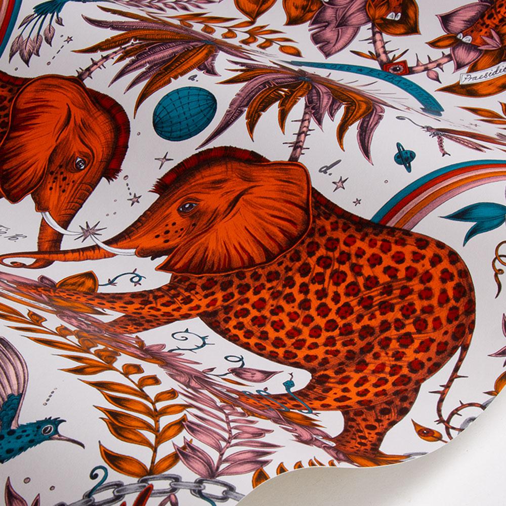 Emma J Shipley Zambezi Flame Wallpaper - Product code: W0121/01