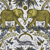 Clarke & Clarke Zambesi Gold Wallpaper - Product code: W0121/02