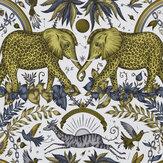 Clarke & Clarke Zambesi Gold Wallpaper - Product code: W0121/02