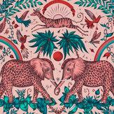 Emma J Shipley Zambesi Pink Wallpaper - Product code: W0121/05