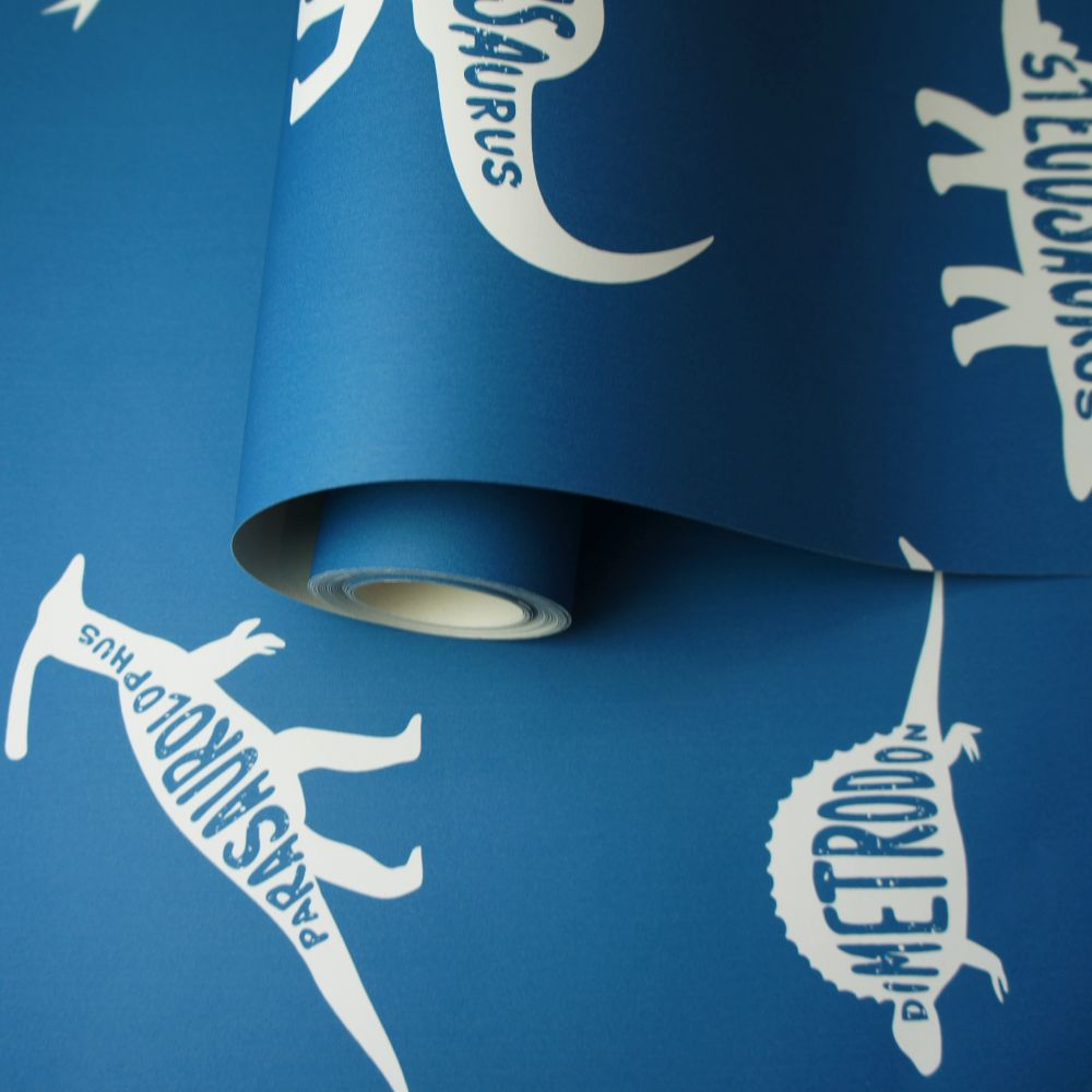 Albany Dino Dictionary Blue Wallpaper - Product code: 90901