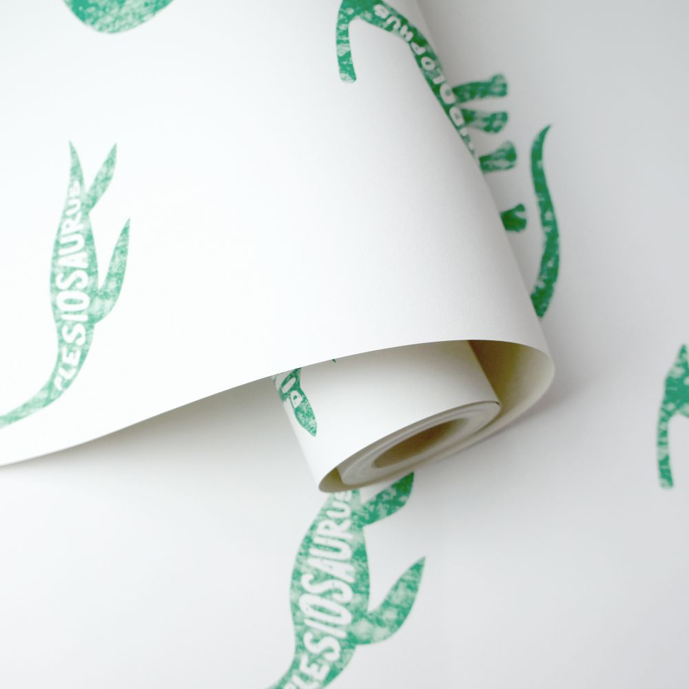 Albany Dino Dictionary Green Wallpaper - Product code: 90902