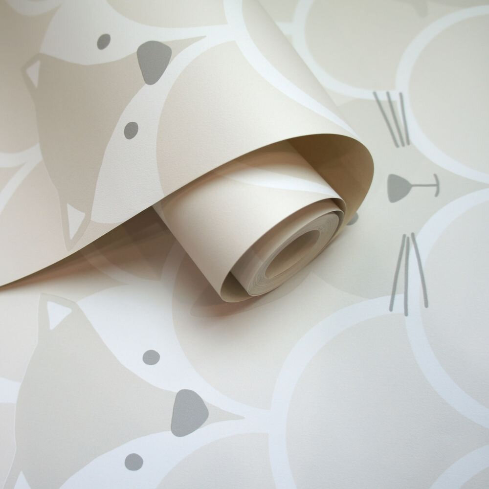 Albany Peek a Boo Neutral Wallpaper - Product code: 91032