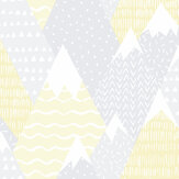 Albany Mountains Yellow Wallpaper - Product code: 91050