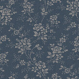 Boråstapeter Hip Rose Blue Wallpaper - Product code: 1177