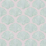 Barneby Gates Scallop Shell Plaster / Green Wallpaper - Product code: BG2100102