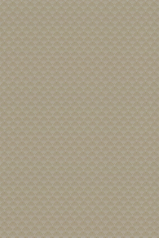 Zellige Fabric - Chartreuse - by Clarke & Clarke