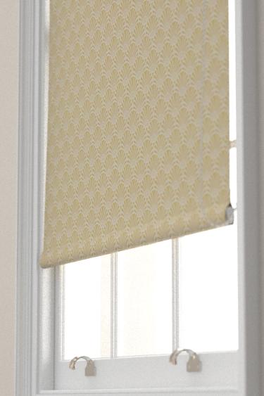 Clarke & Clarke Zellige Chartreuse Blind - Product code: F1351-02