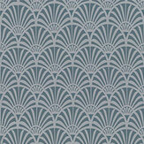 Clarke & Clarke Zellige Teal Fabric - Product code: F1351-04