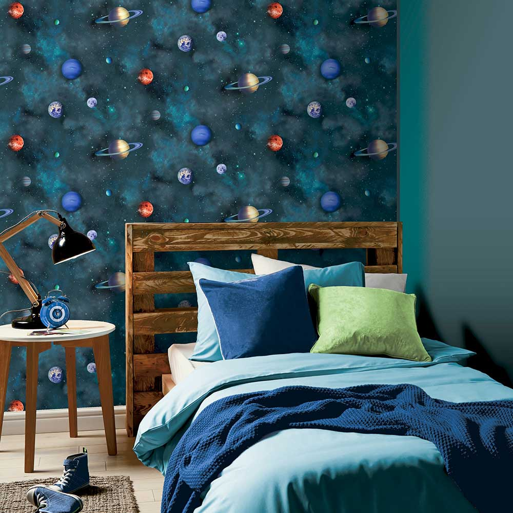 Arthouse Solar Navy  Wallpaper - Product code: 296000