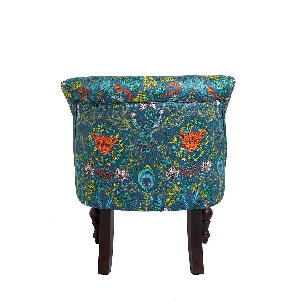 Langley Chair - Amazon Armchair - Navy - by Emma J Shipley