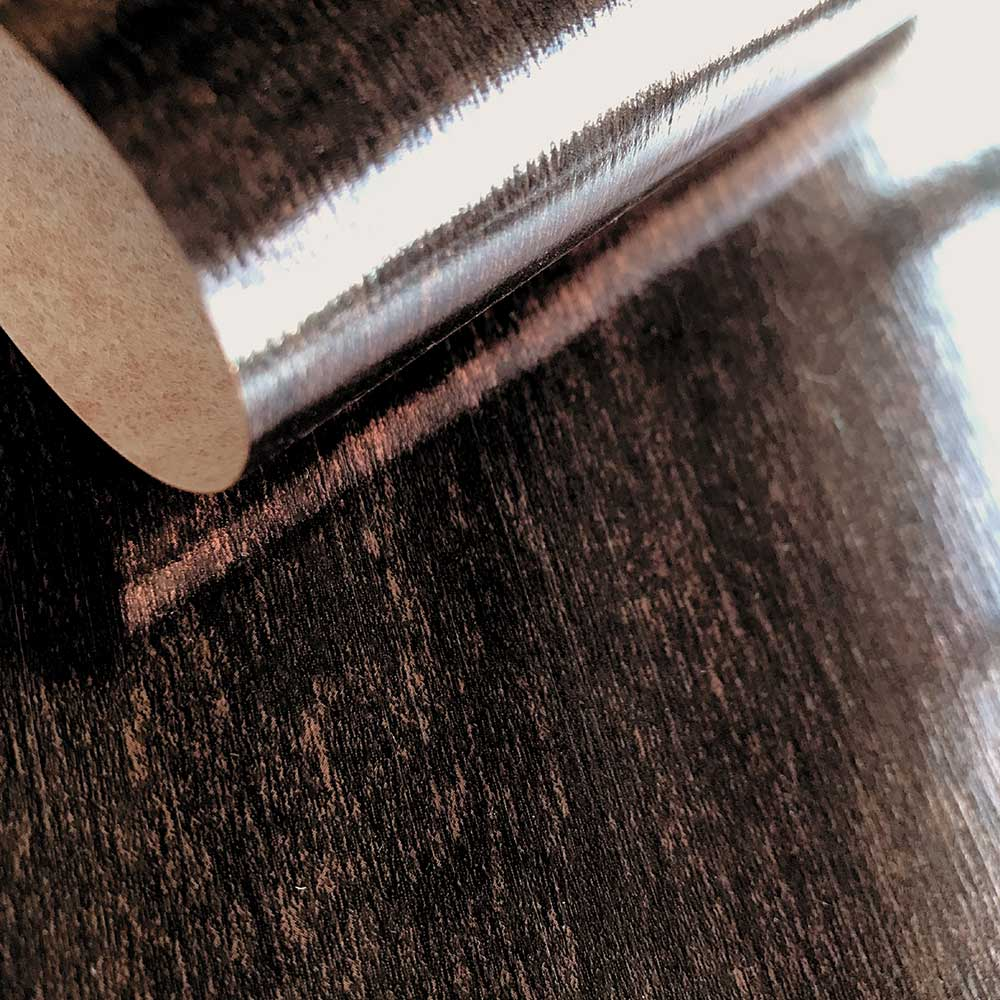 Umbria Wallpaper - Blackened Copper - by Fardis