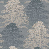 Arthouse Oasis Wood Denin Blue Wallpaper - Product code: 296601