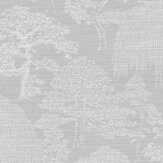 Arthouse Orient Forest Silver Wallpaper - Product code: 298004